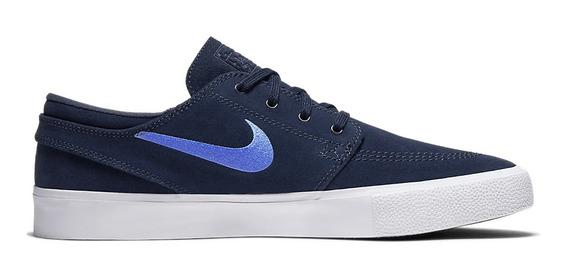 Tênis Nike Sb Zoom Janoski Rm Aq7475-401 Azul