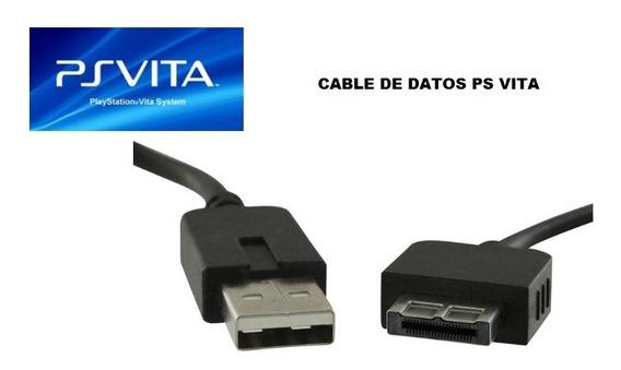 Cable De Datos Y Carga Para Ps Vita - Nuevos