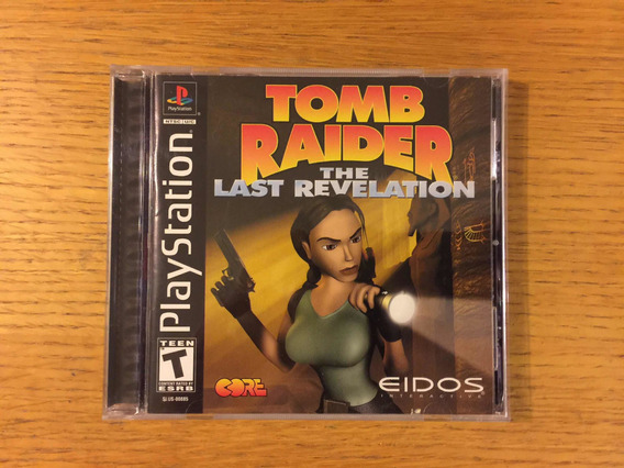 Tomb Raider The Last Revelation Ps1 Ps2 Ps3 Playstation 1