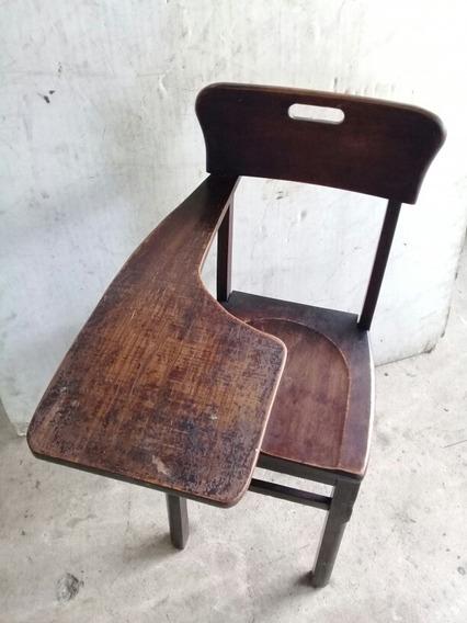 Cadeira Carteira Escolar Universitária Antiga