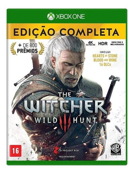 The Witcher 3 Edição Completa Xbox One Mídia Física Novo