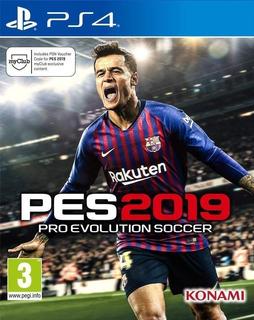 Pes 19 Ps4 Juego Fisico Sellado Nuevo! Pro Evolution Soccer