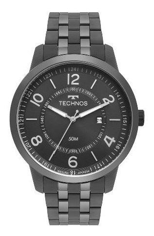 Relógio Technos Masculino Classico De Couro 2115mss/4c
