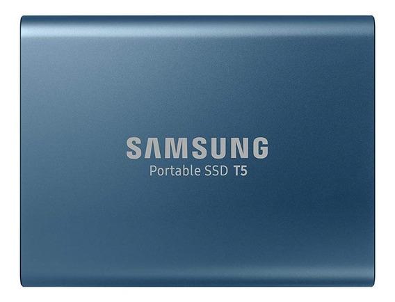Unidad Estado Sólido Externo T5 Samsung 500gb Usb 3.1 Blue