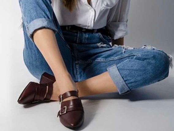 Remate: Lote De 3 Pares De Zapatos Tintos 100% Piel