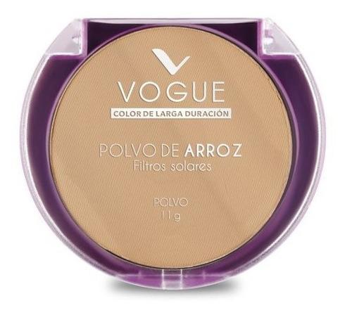 Imagen 1 de 4 de Polvo Compacto De Arroz Piel Grasa Vogue
