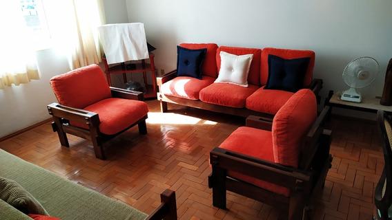 Apartamento Todo Mobiliado Em Caxambu , Circuíto Das Águas, Prédio Com Porteiro 24 Horas , Centro Da Cidade, Ao Lado Para Parque Das Águas . - 791