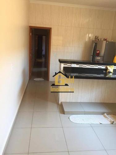 Casa Com 2 Dormitórios À Venda, 126 M² Por R$ 250.000 - Campos Elíseos - Ribeirão Preto/sp - Ca0756