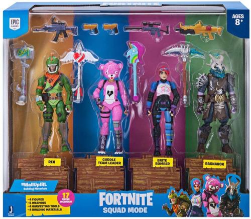 Squad Fortnite 4 Figuras