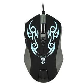 Mouse Gamer Profissional Usb A53 Azul Original Nota 2400dpi