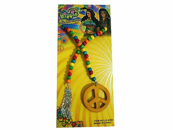 Colar Hippie De Mateira Coloridas