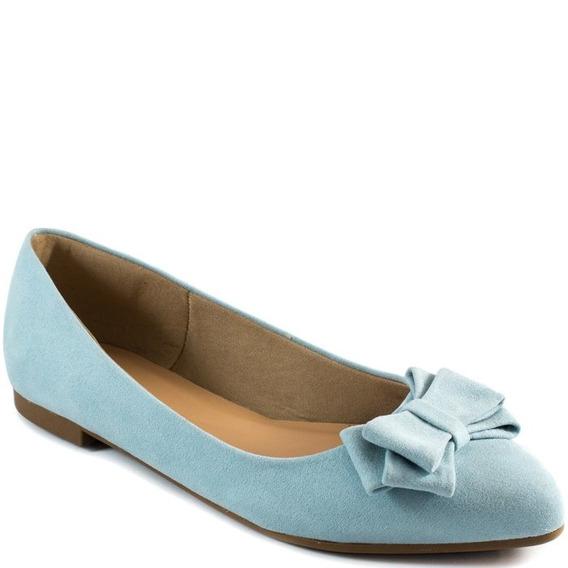 Sapatilha Com Laço Numeração Especial Sapato Show 1424