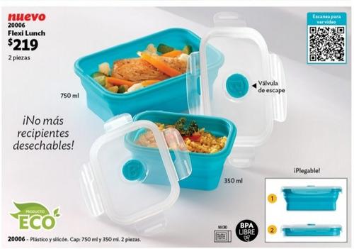 750 ml PP Fresh Big Ensalada Recipientes de comida r/ápida desechable caja de pl/ástico tapas visp Almacenamiento Azpack Paquete de 50