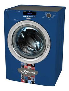 Lavarropas automático Drean Next 8.14 P ECO azul 8kg 220V