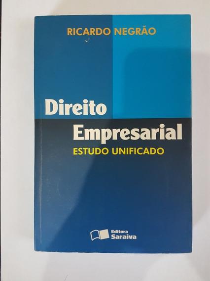 Livro Direito Empresarial Estudo Unificado, Ricardo Negao