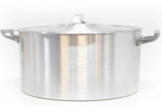 Cacerola N34 15l Aluminio Reforzado Gastronómica Profesional