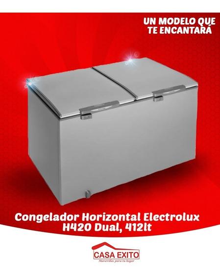 Congelador Horizontal Electrolux H420 Dual, 412lt. Nuevo