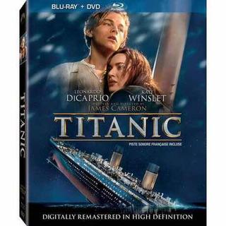 Colección Especial Titanic 1997 Libro Cd Soundtrack Blu-ray