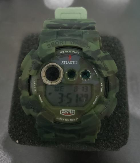 Relógio Atlantis Camuflado