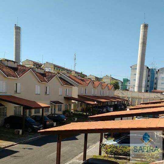 Casa De Condomínio Com 2 Dorms, Jardim Bela Vista, Mogi Das Cruzes - R$ 207.000,00, 55m² - Codigo: 857 - V857