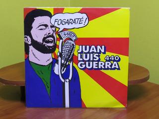 Juan Luis Guerra 440 - Fogaraté ! - Vinilo Colombia 1994