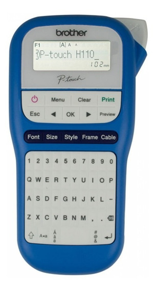 Etiquetadora Portatil Pth110bw Azul