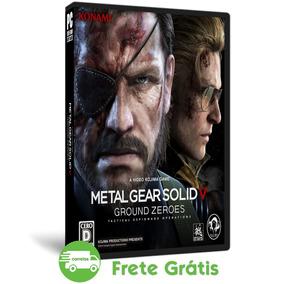 Metal Gear Solid V Pc Ground Zeroes Português Mídia Física