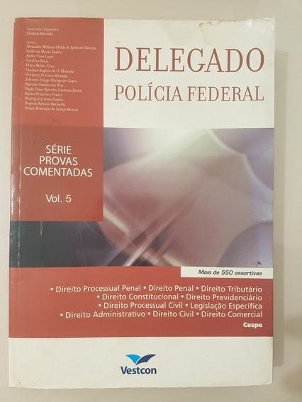 Livro Questões Comentadas Para Delegado Polícia Federal