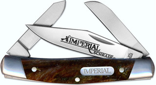 Navaja Imperial Schrade Imp15s Stockman Folding Pocket+grabado