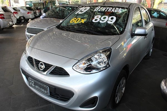 Nissan March S 1.0 12v Manual - Financiamento Sem Entrada