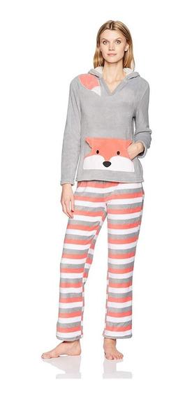 Pj Couture Conjunto De Pijama Con Capucha