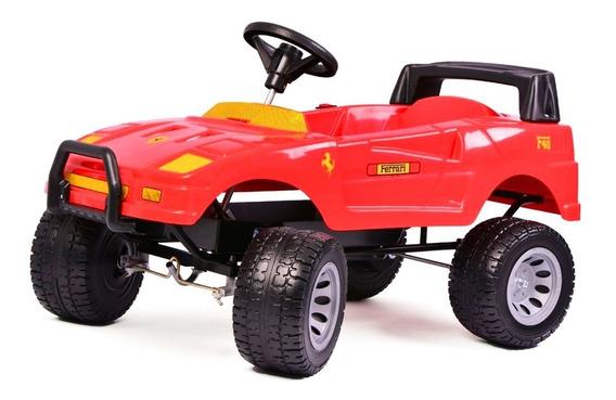 Auto Coche Electrico Bateria Ferrari F40 6v Rodacross 3a6 Añ