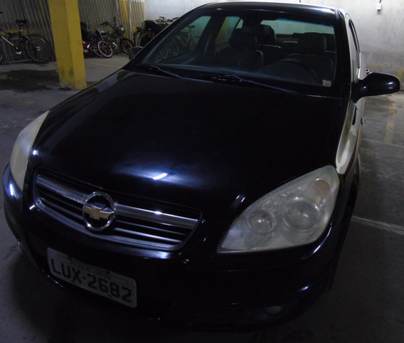 Chevrolet Vectra Sedan Elegance Preto Flex Automático 2006