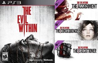The Evil Within + Season Pass Dlc ~ Ps3 Digital Español