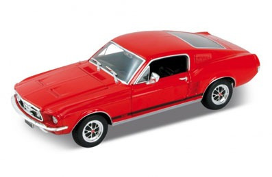 Auto 1:24 1967 Ford Mustang Gt Welly Lionels 2522