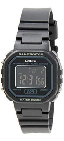 Relógio Casio Digital Caixa Com Pulseira Resina Preto +nf