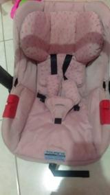 Bebê Conforto Semi Usado Touring - Burigoto Rosa