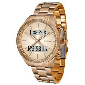 Relógio Lince Feminino Ref: Lar4591l R1rx Anadigi Rosé