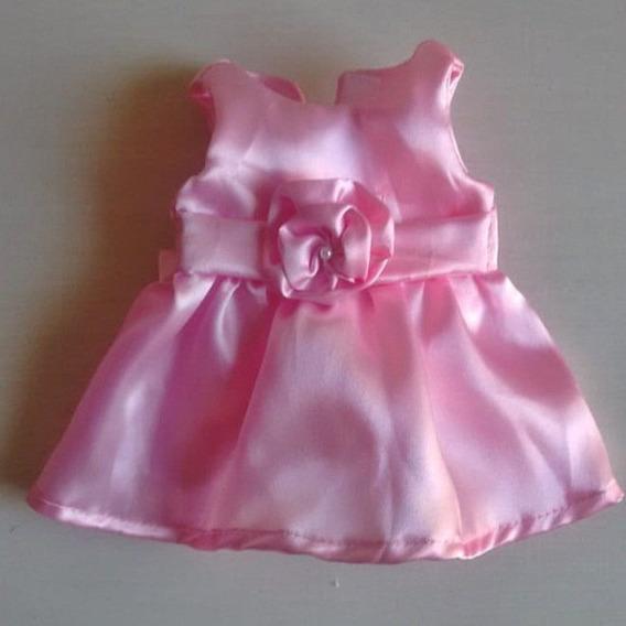 Vestidos Baby Alive Rosa Festa