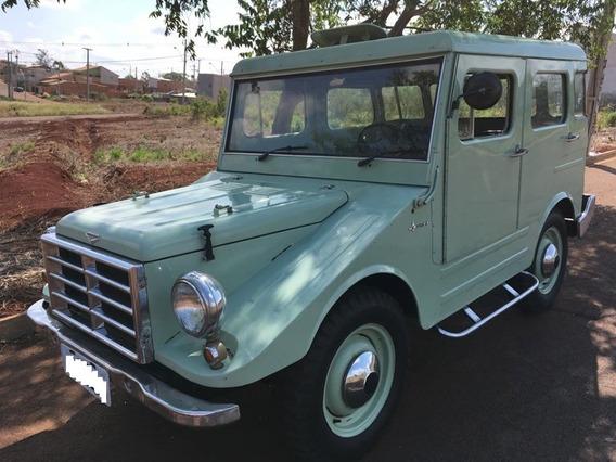 Dkv Vemag Candango 4 Portas 1961 4x4 Teto De Aço Original