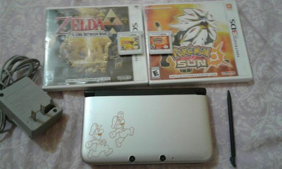 Nintendo 3ds Xl (usado) + 2 Jogos