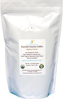 Purelife Enema Coffee- 1 Pound, Organic Medium Air Roast - G