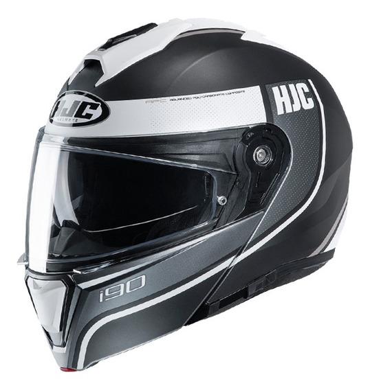 Casco Moto Hjc Rebatible I90 Davan Mc10sf