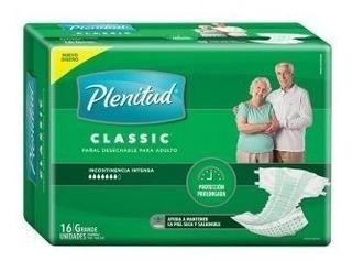 Pañal Adulto Plenitud Classic Med O Gde X16