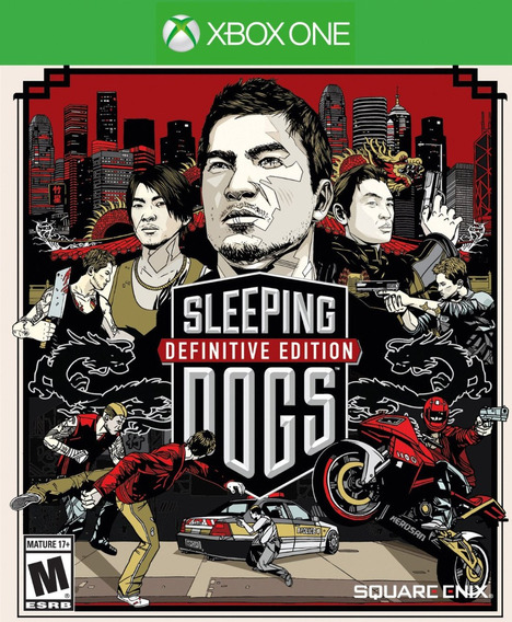 Sleeping Dogs Definitive Xbox One - 25 Dígitos (envio Já)