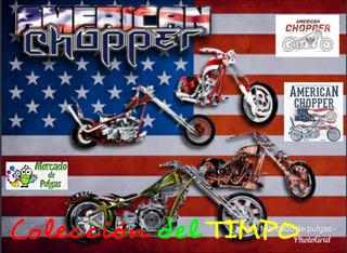 Coleccion Moto American Chopper De El Tiempo