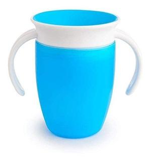 Vaso Antiderrames Munchkin 360 - Miracle Cup 7oz Azul