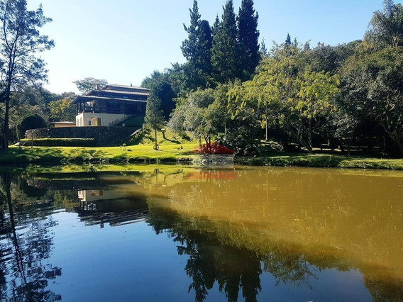 7.000m² Com Lago - Casa Com 4 Suítes - Ch0323