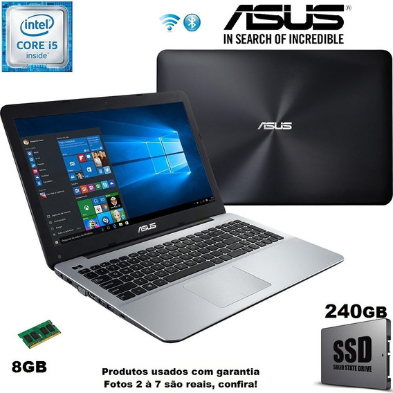 Notebook Gamer Asus I5 8gb /ssd / Gforce 2gb E Garantia