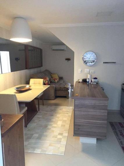 Casa Com 2 Dormitórios À Venda, 98 M² - Ponta Da Praia - Santos/sp - Ca0188